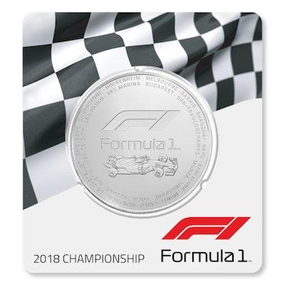 2018 Formula 1® 2.5 oz Silver Coin