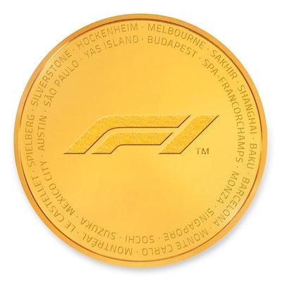 Formula 1® 2019 Gold Kilo Coin
