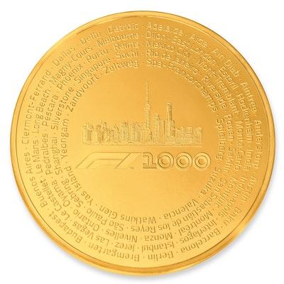 Formula 1® 1000 Kilo Gold Coin